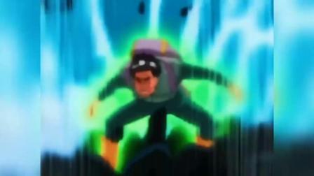 火影:鬼鲛vs凯开了第六门的凯打鬼鲛只用了一招?
