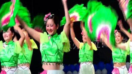 徽州区喜洋洋舞蹈队-清风舞荷