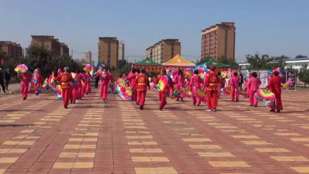 阜新市健身舞蹈协会秧歌舞汇演--阜蒙县西关村秧歌队