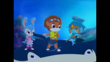 虹猫蓝兔:海底历险记,虹猫做出美味海苔救海洋生物!