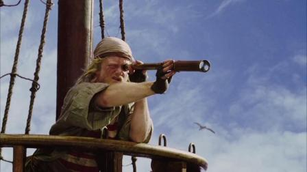 海绵宝宝历险记:海盗千辛万苦找宝藏,里面是电影票,直冲电影院