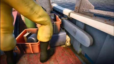 萨米大冒险:渔夫以为萨米了,就把它扔回了海里,太幸运了