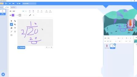 Scratch少儿趣味编程100例实例77奇偶判断机器人