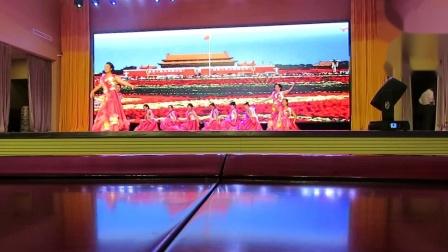 元宝区全民健身夕阳红盛世欢歌庆双节文体演出之知青大学舞蹈《领航新时代》片段