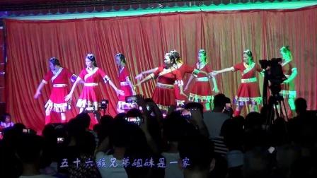 铺门阳光团队舞蹈(爱我中华)