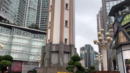 重庆解放碑塔钟中午12点钟声(回声版)