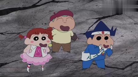 小新完成变身,变成了吉祥物,拯救小琴的梦境!