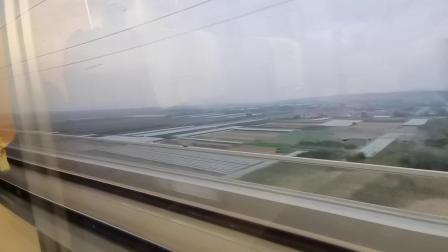 20201006_175217 乘坐D2521次 永济北站开出,通过晋陕黄河特大桥