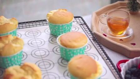 香甜可口的奶油小蛋糕,营养美味不上火