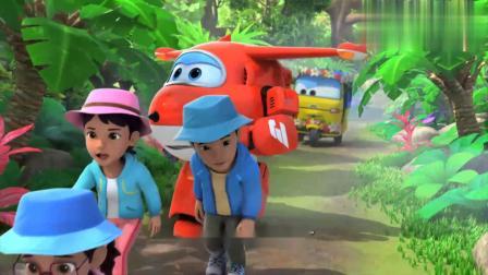 超级飞侠:森林里的路越来越难走,三轮车已经跟不上了!