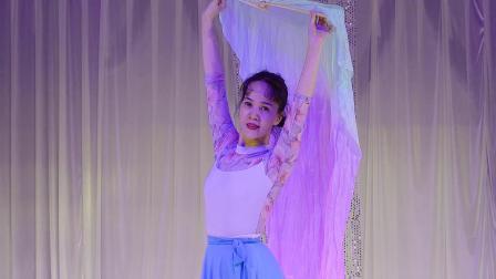 长扇舞《吹梦到西洲》表演  阿贤