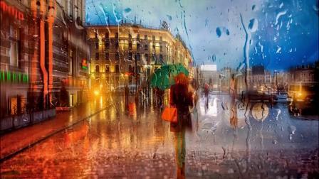 Rain,Rain-雨的音乐-圣彼得堡街景