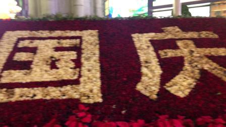 (昨天晚上拍摄)重庆解放碑塔钟晚上10点钟声(2)