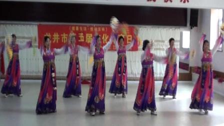 龙井市文体日金达莱艺术团演出活动(2020。10。09).