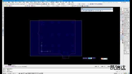 筏形基础(2):CAD建筑底图
