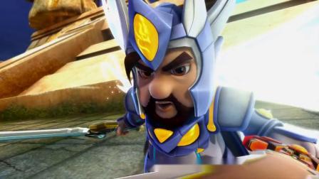 猪猪侠:超人强投身黑暗,不再当五灵卫,还要进攻水晶城!