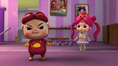 猪猪侠:真凶被找到,猫脸怪误会猪猪侠,差点把猪猪侠当成凶手!