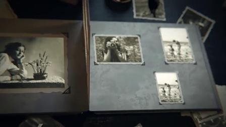 旧年份历史相册书籍3D翻墙展示复古照片动画视频效果制作AE模板_相册ae模板