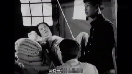 1976年唐山纪录片《军民团结抗震灾》关键时还得我们的解放军战士