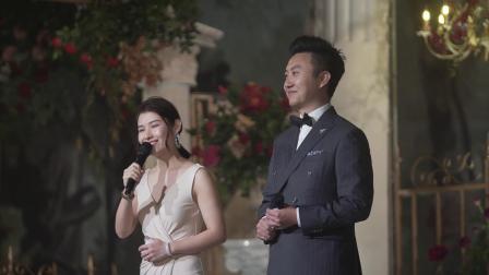 柯雪·窦冠男 双主持婚礼视频