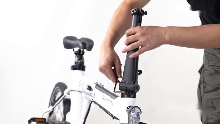 【原装配件】大行自行车单车通用新型方形竖管New and Improved Eiffel Folding Handlepost