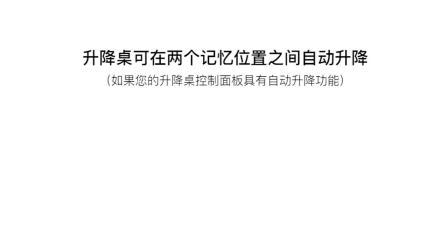 力纳克办公系列——DPG1M 使用位置记忆功能和自动驱动功能(中文)