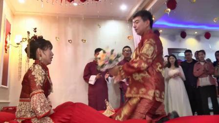 10-4王赫&潘泽惠婚礼实况