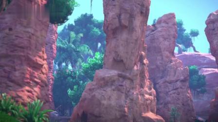 猪猪侠:互利共生的恐龙,种族不同,居然可以在一起生活!