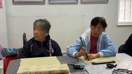 豆各庄文化传播社区书法培训活动纪要(视频频)