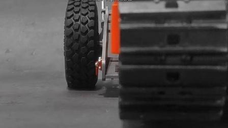 挖机模型便捷转运小拖车详情视频