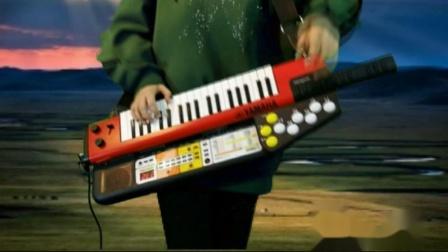 鸿雁-SHS500背挎电子琴肩背合成器+手持自动伴奏器