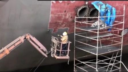 移动式钢结构喷砂除锈机