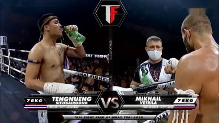 登能看他对阵俄罗斯拳手米哈伊尔·维特里拉比赛结果如何?