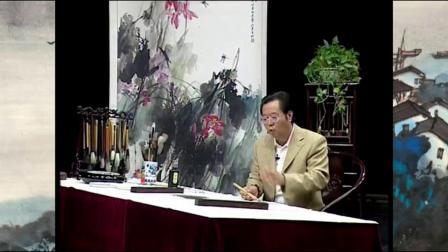 国画入门松鼠 广州书法国画艺考培训中心 国画树干的画