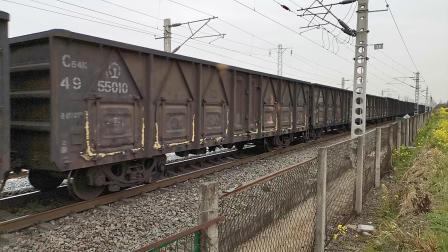 20200315 145441 阳安线HXD2货列通过王家坎站