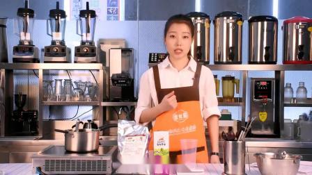 花式奶茶:黑糖抹茶鲜奶