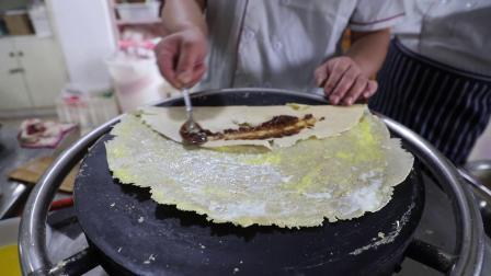 哟哟 煎饼果子来一套 长沙湘味轩煎比果子培训班开课啦