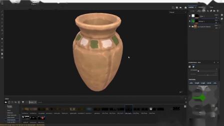 【3D建模】游戏建模陶罐模型制作过程,3dsMax/ZBrush/SP贴图教程