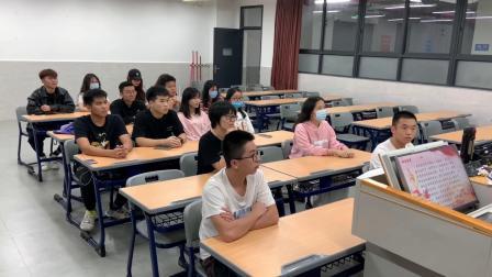 2020广东白云学院工商管理学院19会展管理3班团日活动