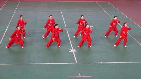 集体42式太极拳规定套路   参赛:忻州市代表队
