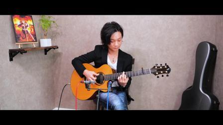 [LiSA 炎 Homura]Yuki Matsui松井祐貴指弹鬼灭之刃剧场版:无限列车篇主题曲