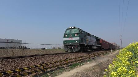 货列 26119次 HXN50650 通过宁芜线K76KM马鞍山芦杨村附近