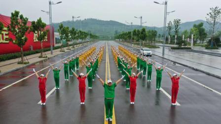 中国大金操山东分会展演北体大推广第三套