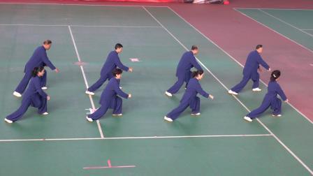 集体42式太极拳规定套路   参赛:吕梁市代表队