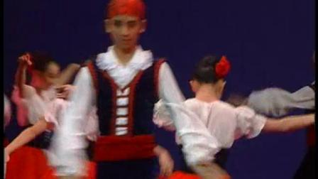 北京舞蹈学校50周年校庆演出盛典舞蹈比赛系列之阿拉贡 霍塔