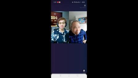 鹤壁新闻广播电台戏迷乐园节目主持人梁红连麦豫剧黑头兰力,李根旺唱段。