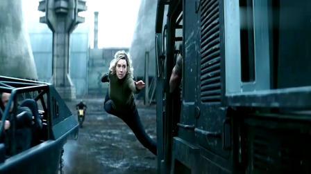 速度电影中的惊险跳车场景