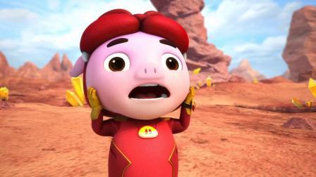 猪猪侠:猴子博士的英雄事迹,猪猪侠听了之后,真是太过分了!