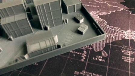 【3DM游戏网】3D打印COD场景