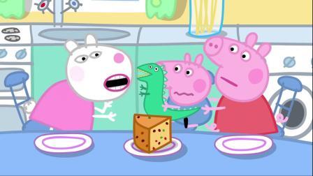 小猪佩奇:狮子里奥来到佩奇家,在佩奇的陪伴下,玩的非常开心!